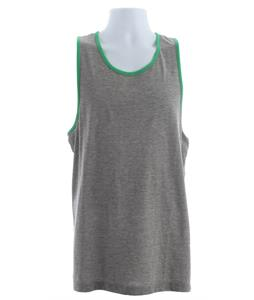 Vans Core Basics Tank Concrete Heather/True Green