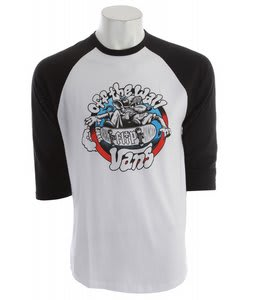 Vans Cruise Or Lose Raglan White/Black