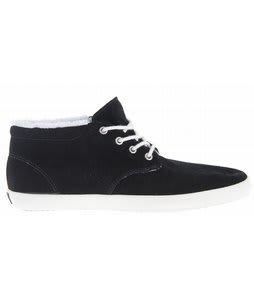 Vans Del Norte E Street Mid Skate Shoes (Fleece) Black/Turtledove