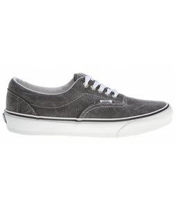 Vans Era Skate Shoes Distressed Black