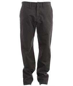Vans Excerpt Chino Pants New Charcoal