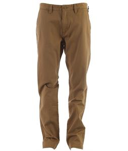 Vans Excerpt Chino Pants New Mushroom Brown