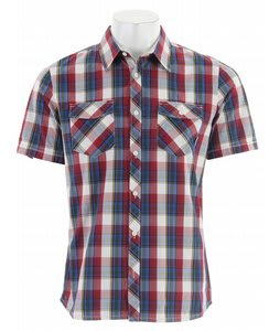 Vans Farer Shirt Rio Red