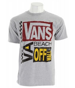 Vans Futurepast VB T-Shirt Athletic Heather