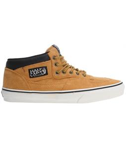 Vans Half Cab Skate Shoes (Hiker) Suede/Tan
