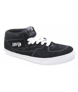 Vans Half Cab Skate Shoes Black
