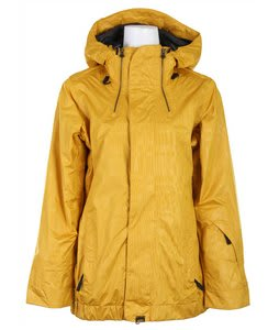 Vans Hana Insulated Snowboard Jacket Gold Wnd