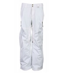 Vans Hana Insulated Snowboard Pants Bright White