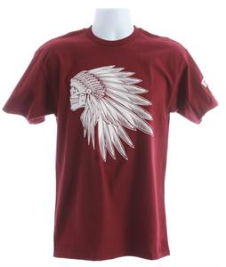 Vans Headdress T-Shirt Burgundy