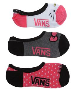 Vans Hello Kitty Canoodle Socks Hot Pink