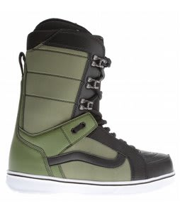 Vans Hi Standard Snowboard Boots Green/Black