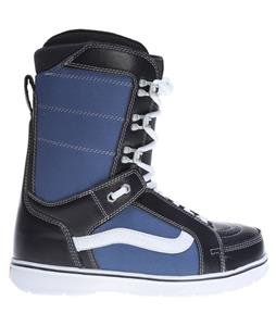 Vans Hi Standard Snowboard Boots Navy/White