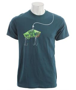 Vans Hook Line And Sinker T-Shirt Atlantic Deep