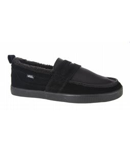 Vans Hustle Shoes Black/Black