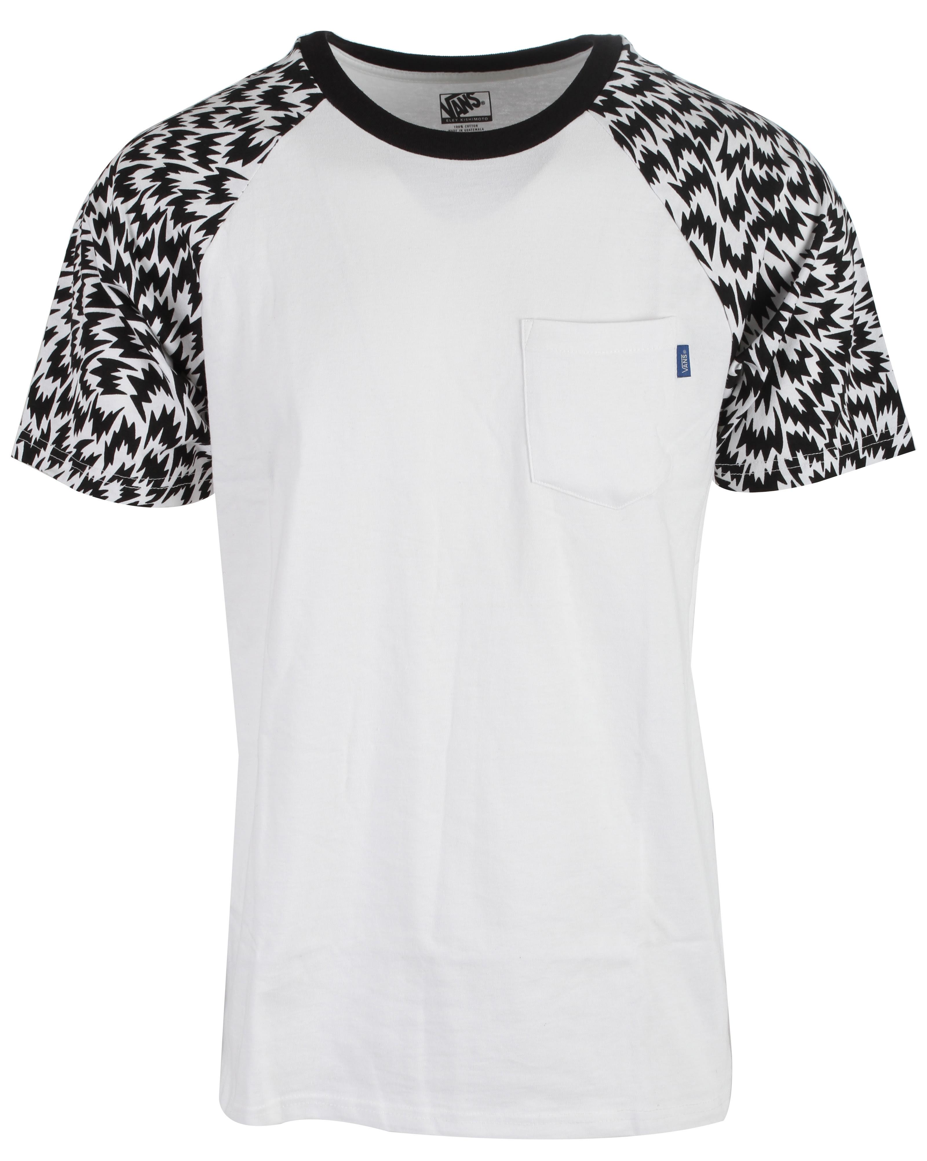 On Sale Vans Kishimoto Raglan T Shirt Up To 50 Off