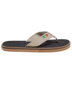 Vans La Costa Sandals (Rasta) Brown
