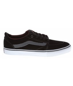 Vans Lindero Skate Shoes Black/Charcoal/Mahogany