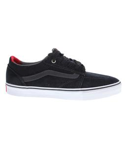 Vans Lindero Skate Shoes Navy/White/Red