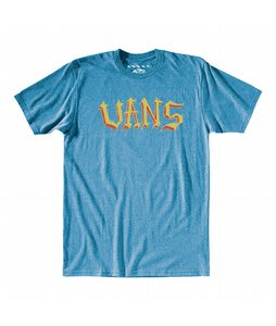 Vans Lindig Font T-Shirt Royal Heather