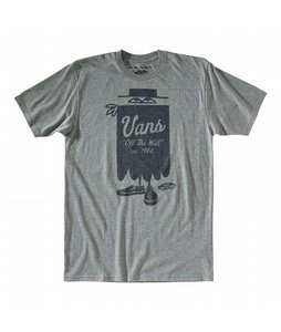 Vans Magician T-Shirt Rock Grey Heather