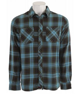 Vans Marr Flannel Shirt Adriatic Blue
