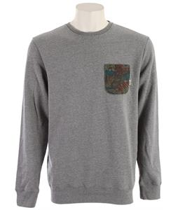 Vans Middleton Sweatshirt Concrete Heather/Tropical Camo