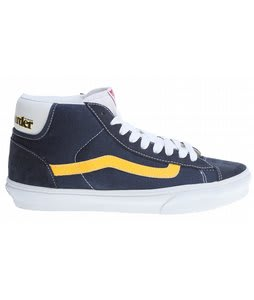 Vans Mid Skool '77 Shoes (Skateboarder) Navy/Yellow