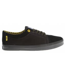 Vans Milo Skate Shoes (Colony) Black/Yellow