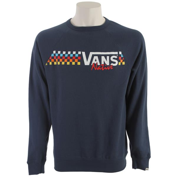 Vans Native Check Crew Sweatshirt
