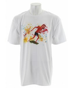 Vans Neck Face Pusher T-Shirt White