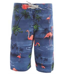 Vans Off The Wall 22In Boardshorts Blue Flamingo