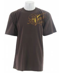 Vans Og 66 T-Shirt Dark Chocolate