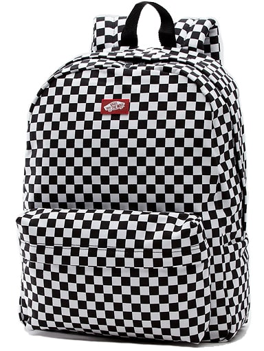 Vans Old Skool II Backpack Black/White Check 22L