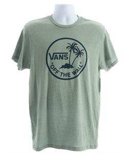 Vans Otw Palm Logo T-Shirt Green Bay Heather