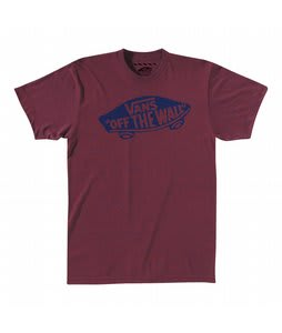 Vans OTW T-Shirt Blue/Burgundy Heather/Electric Blue