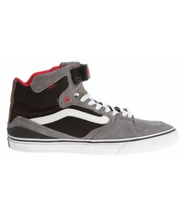 Vans Owens Hi 2 Bike Shoes Grey/Black/Red