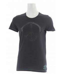 Vans Peace Cut-Out T-Shirt Onyx