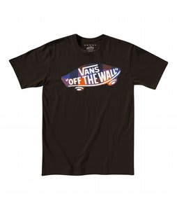 Vans Pladical V T-Shirt Dark Chocolate