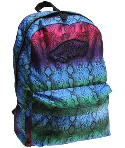 Vans Realm Backpack (Snake) Festival Fuchsia/True White 22L