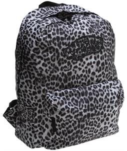 Vans Realm Backpack (Snow Leopard) Sidewall Pewter 22L