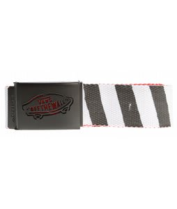 Vans Reverse Web Belt Black/Brand Red