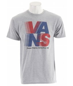 Vans Rolling Originals T-Shirt Athletic Heather