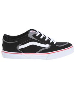 Vans Rowley Pro Shoes Black/White/Red