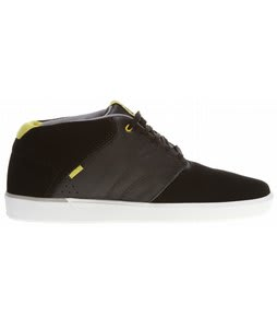 Vans Secant Skate Shoes Black/Lime