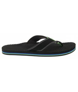 Vans San Lucas Sandals Black/Green Flash