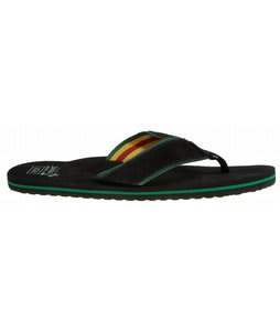 Vans Side Slip Sandals Black/Rasta