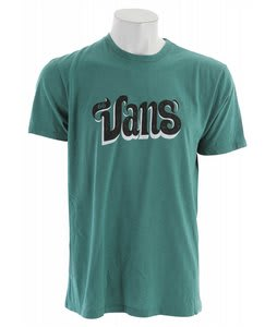 Vans Sign Script T-Shirt Newport Heather
