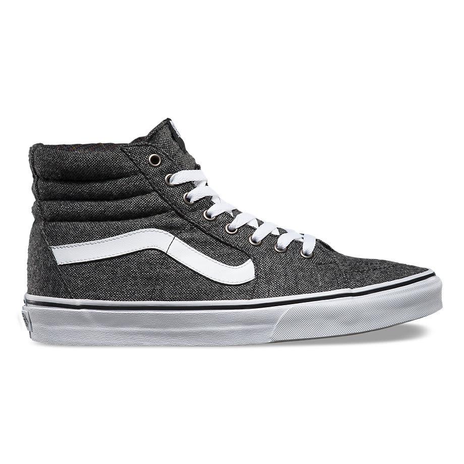 Vans Sk Hi Skate Shoe Black Black