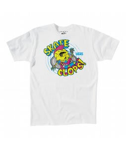 Vans Skateclops T-Shirt White