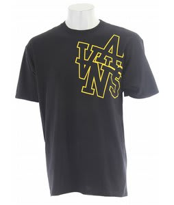 Vans Stadium Way T-Shirt Black/Yellow